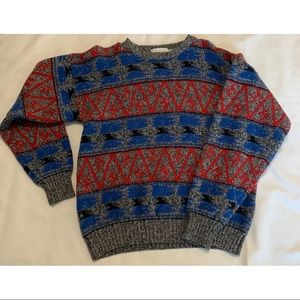 McGregor Vintage Grandpa Wool Sweater Size Large